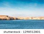 red sea coast shore in the ras... | Shutterstock . vector #1298512801