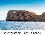 red sea coast shore in the ras...   Shutterstock . vector #1298512864