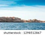 red sea coast shore in the ras... | Shutterstock . vector #1298512867
