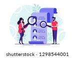 concept human resources ... | Shutterstock .eps vector #1298544001