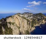 aerial view in capri  italy | Shutterstock . vector #1298544817