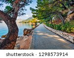 nice runing trek in the city... | Shutterstock . vector #1298573914