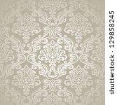 damask vintage floral seamless  ...   Shutterstock .eps vector #129858245