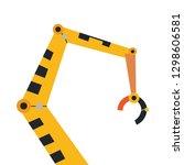 industrial mechanical robot arm ...   Shutterstock .eps vector #1298606581
