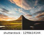 beautiful view of the... | Shutterstock . vector #1298614144