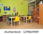 kindergarten preschool... | Shutterstock . vector #129864989