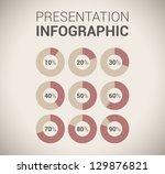 modern soft color design...   Shutterstock .eps vector #129876821