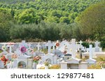 Old Cemetery On The Island Of...