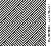 vector seamless geometric... | Shutterstock .eps vector #1298781037