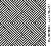 seamless geometric pattern... | Shutterstock .eps vector #1298781067