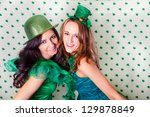Pretty Irish Women In Green An...