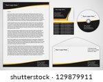 business template | Shutterstock .eps vector #129879911