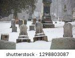 Two Blank Headstones In...