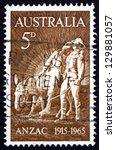 Australia   Circa 1963  A Stam...