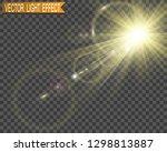 special lens flash  light... | Shutterstock .eps vector #1298813887