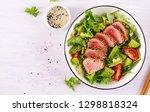 tuna salad. japanese... | Shutterstock . vector #1298818324