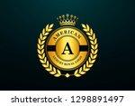 luxury  royal and elegant logo... | Shutterstock .eps vector #1298891497