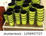 flower pot. shop  supermarket ... | Shutterstock . vector #1298907727