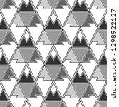 geometrical figures wallpaper... | Shutterstock .eps vector #1298922127
