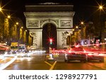 paris  france   october 8  2018 ... | Shutterstock . vector #1298927791