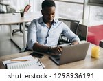 businessman. young handsome... | Shutterstock . vector #1298936191