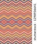multicolor seamless vector... | Shutterstock .eps vector #1298936641