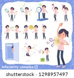 a set of chiropractor women on... | Shutterstock .eps vector #1298957497