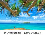 a couple at fingal heads... | Shutterstock . vector #1298993614