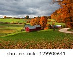Jenne Farm In Fall With...