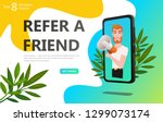 refer a friend concept....