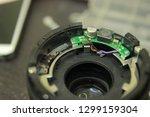 camera lens repair disassembly | Shutterstock . vector #1299159304