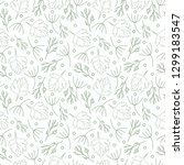 pattern with white background ... | Shutterstock .eps vector #1299183547