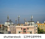 Cell Sites On The Rooftop Of...