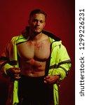 man of any job. construction... | Shutterstock . vector #1299226231