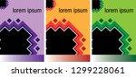cover retro 80's style... | Shutterstock .eps vector #1299228061