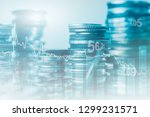 financial investment concept.... | Shutterstock . vector #1299231571