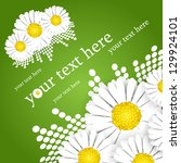 background with flowers   Shutterstock .eps vector #129924101