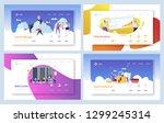 secure cloud data storage... | Shutterstock .eps vector #1299245314