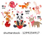 big valentine's day set a... | Shutterstock .eps vector #1299254917