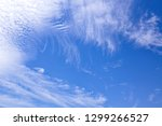 white clouds on blue sky | Shutterstock . vector #1299266527