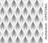 vector pattern  repeating... | Shutterstock .eps vector #1299271861