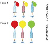 physics   balloon and gas... | Shutterstock .eps vector #1299331027