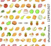 cheeses  fruits  snacks  table...   Shutterstock .eps vector #1299391507