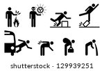 people icons  a variety of... | Shutterstock .eps vector #129939251