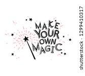 vector inspirational message... | Shutterstock .eps vector #1299410317