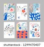 creative universal artistic... | Shutterstock .eps vector #1299470407