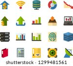 color flat icon set   personal...   Shutterstock .eps vector #1299481561