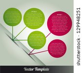 template  vector eps10... | Shutterstock .eps vector #129948251