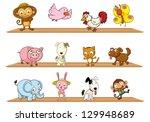 illustration of the diffrent... | Shutterstock .eps vector #129948689