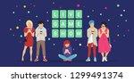 live game show mobile app... | Shutterstock .eps vector #1299491374